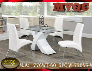 modern dining sets, dinette room sets, 6 and 4  pc kitchen table