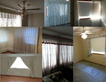 Assorted curtains, blinds and venetians Auburn Auburn Area Preview