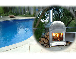 Wood Stove Pool Heater - and PIZZA OVEN combos
