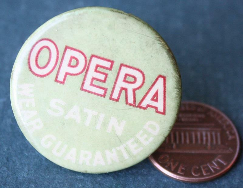 1910-20s Era Opera Satin Company celluloid-metal hatpin or stickpin-SO VINTAGE!*