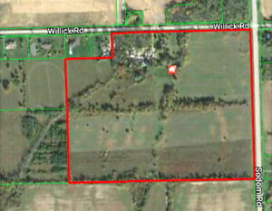 Exclusive 42 acres potential development land in Niagara Falls
