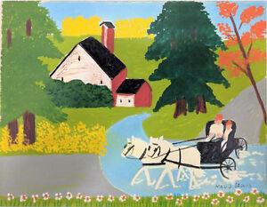 Maud Lewis Original Artwork For Auction This Sunday June 25