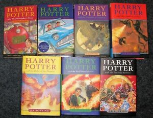 Harry Potter Set 6 hardcover 1 softcover $50
