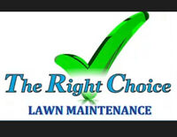 THE RIGHT CHOICE LAWN MAINTENANCE AND CARE AND SODDING