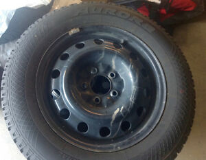 Set of 4 Aurora W403 Winter Radials w Rims