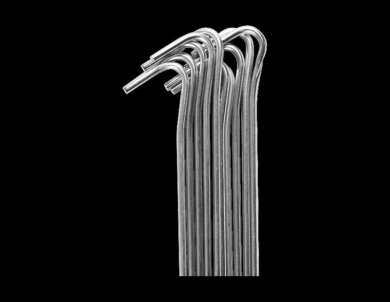 Yaheetech 10 x Hering Zelthering Spannhaken Erdnagel Schnurhaken verzinkt 30 cm aus verzinkt Stahl