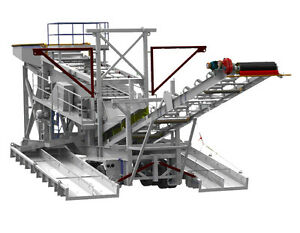 GOLD PLACER WASH PLANT