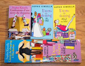 5 Livres Accros du shopping (Sophie Kinsella)