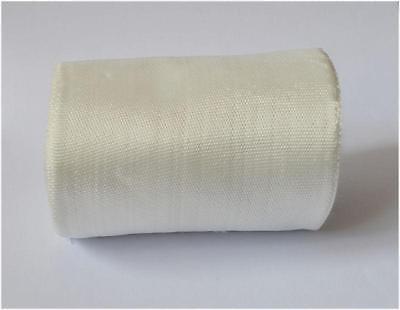 1 Rolls Fiberglass Cloth Tape E-glass Wide 100mm 22m Long Fiber Plain Weave