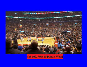 =Raptors Tickets v DALLAS MAVERICKS:Fri.Oct-26.Lower Bowl:Row10=