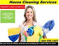 Maid Service Cleanings Housekeeping