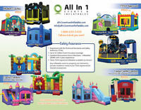 SUMMER PICK-UP SPECIALS - STARTING $99 - BOUNCY CASTLES
