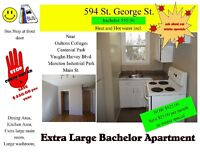 extra large bachelor , 594 st george 525.00