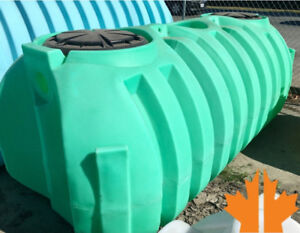 830 (1000 US) Gallon 2 Stage Septic Tank