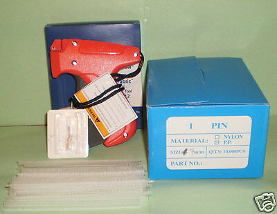 Avery Dennison Fine Fabric Price Tagging Tagger Gun W 10000 14 7mm Barbs