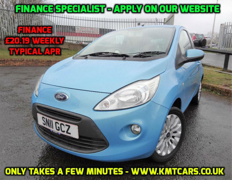 Ford Ka  Tdci Zetec Turbosel Road Tax  Per Year