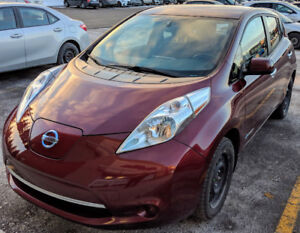 2016 Nissan Leaf SV Berline