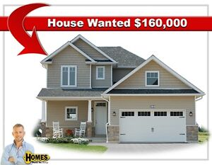 3 Bedroom Home Wanted  $160,000 (VIDEO)