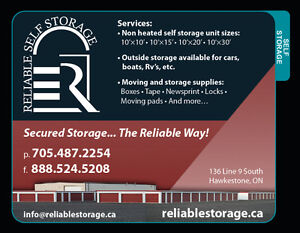 Spring is almost here. Come book your self storage unit today