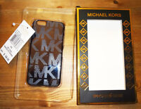 BRAND NEW MK EMBOSSED PEWTER IPHONE 6 BACK COVER CASE