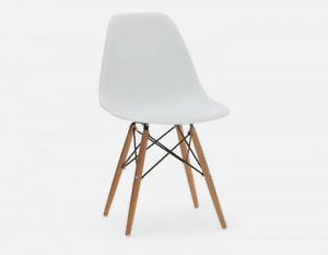 Eames-Style Dining Chair Set Mid-Century Modern (Set of 4)