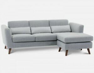 Structube Sectional light blue couch
