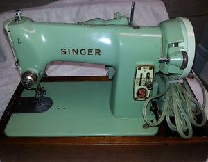 1958 High Grade WORKING SINGER SEWING MACHINE 185J