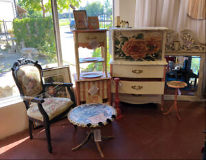 SALE, Hand Painted Furniture