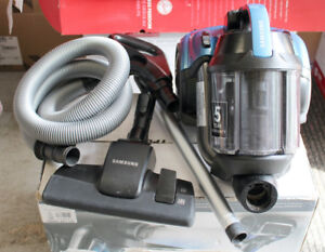 SAMSUNG VCF500G CANISTER VACUUM WITH EXTREME SUCTION POWER