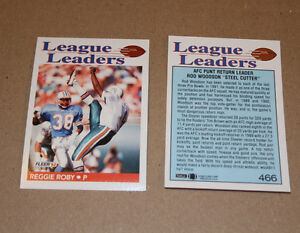 Fleer 1992 football cards Strathcona County Edmonton Area image 1