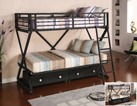 TWIN/TWIN bunk bed from $399....only