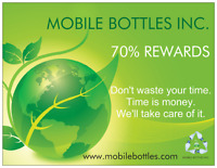 Mobile Bottles Inc. with 70%Reward!