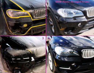 Bumper Repair & paint with Warranty