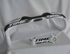 Carbon Handlebar TIME with a bike stem (2 colors)