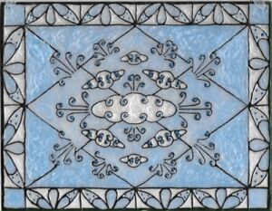 Air Element Stained Glass Painting