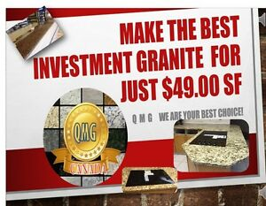 ONLY $49.00 SF IN GRANITE THE BEST OFFER CALL US!
