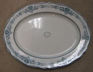 COPELAND SPODE PLATTER FROM 1900's with KNOX CHURCH OWEN SOUND