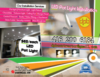 LED Pot Light Installation
