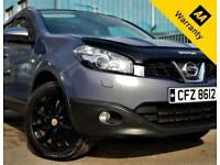 2010 NISSAN QASHQAI 1.5 TEKNA DCI 105 BHP+SAT-NAV+R/CAMERA+LEATHER+FULL PAN-ROOF