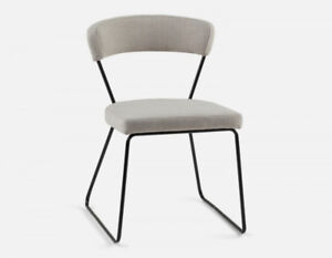 "Structube chair ""Urba"", brand new, beige, six or more available"