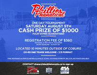$1000 CASH PRIZE ONE DAY CO-ED TOURNEY - AUGUST 5TH