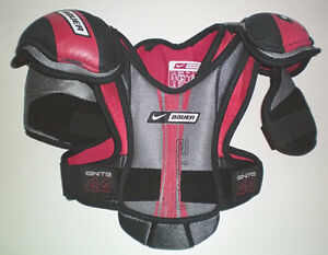 Selection of 6 Pair of Ice Hockey Shoulder Pads London Ontario image 1