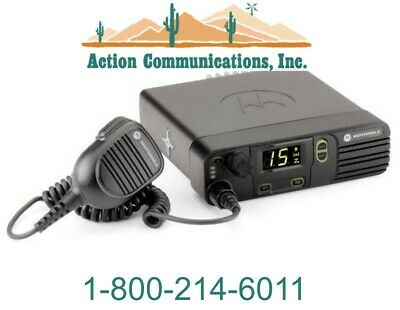 New Motorola Xpr 4350 Vhf 136-174 Mhz 45w 32 Channel Two Way Radio