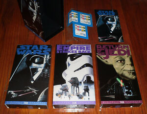 "Star Wars Trilogy 1995 ""Digitally Mastered"" movie set TXH Releas"