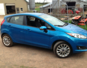 2014 Ford Fiesta with MVI