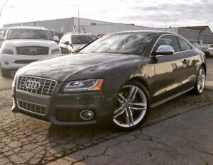 2008 AUDI S5 NAVI   ACCIDENT-FREE   BACKUP   RED SEATS   6SPD  