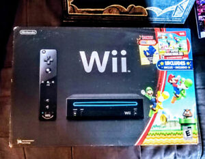 Nintendo Wii System, controllers & game