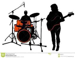 Rock Drummer & bassist needed, adult age 30-40's