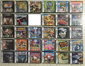 TONS OF DS GAMES! Pokemon White/Black, Mario & Sonic, Kirby ...