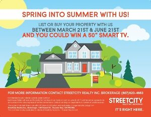 """YOU COULD WIN A 50"""" SMART TV!"""